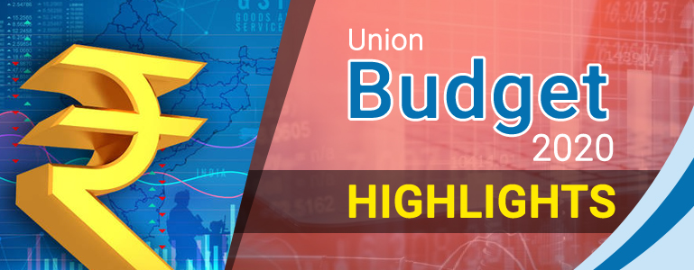 Budget Highlights of 2020-21